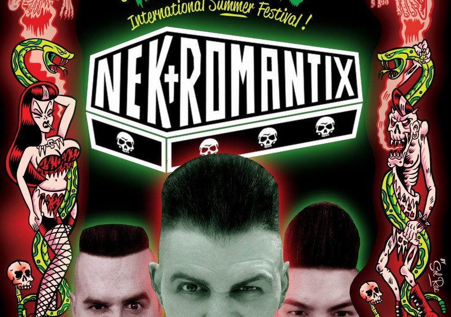 Nekromantix Psychobilly meeting 2018 Pineda de Mar