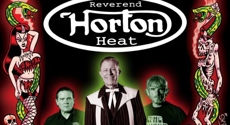 Reverend horton heat psychobilly meeting