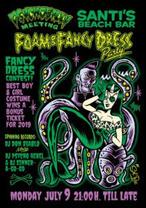 Foam & Fancy Dress Party !