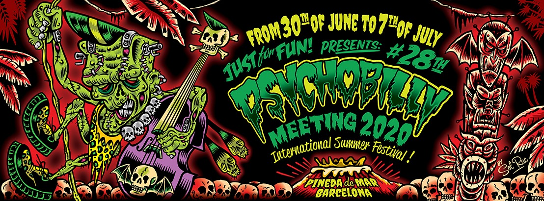 How Many People At Del Mar Fair 2020.Psychobilly Meeting Festival Pineda De Mar 2020