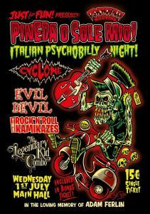 4th Announcement Italian Psychobilly Night !
